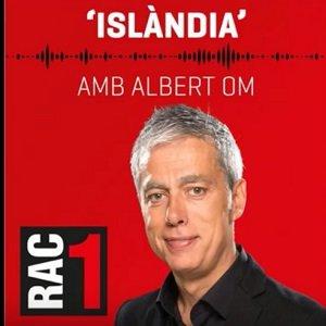 Imatge del locutor de l'emissora de ràdio RAC1 Albert Om.