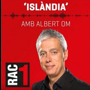 Image of RAC1 radio station announcer Albert Om.