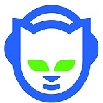 Image of the logo of the music platform in streaming napster.