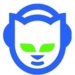Imagen del logo de la plataforma de música en streaming napster.